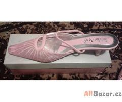 Dámské nazouvací boty na podpadku - nové