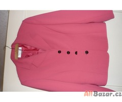 dámské růžové sako