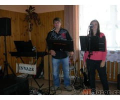 Hudební kapela - trio Invaze z Třebíče - taneční hudba na svatby