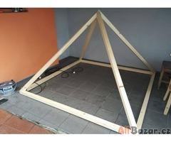 Model Velké pyramidy v Gíze