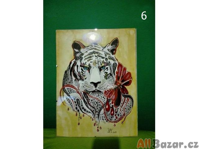 Romantic tiger