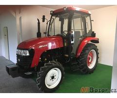 Malotraktor 50 HP 4WD s kabinou
