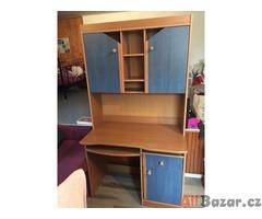 Prodám skříně modré barvy, dřevo