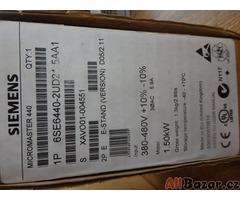 Siemens frekvenčí měnič Micromaster 440, 6SE 6440-2UD21-5AA1