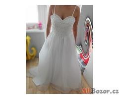 Nové bílé svatební šaty