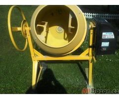 Stavební míchačka tovární výroby 125 litrů,220 V