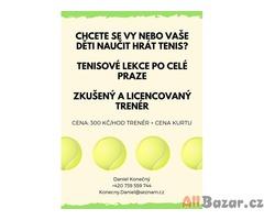 Tenisový trenér po celé Praze
