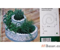 Gabiony - spirála na bylinky (98890)