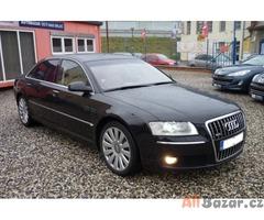 Audi A8 W12 Long, TV, lednice, LPG