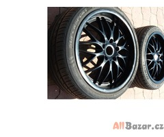 Prodám ALU 18 litá černá kola z BMW E46