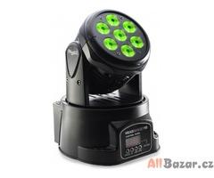 SLI MHW HB10-1 LED Headbanger 10 LED Pohyblivá hlava Vnitřní světlo