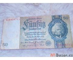 Říšská bankovka z r.1933