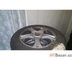 Prodám AL kola vč. letní pneu na Citroen Xsara Picasso