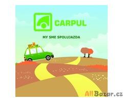 Carpul.eu – Česká  a Slovenská spolujízda autem