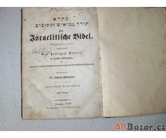 Prodám starou bibli z r.1858