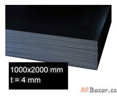 Plech 4 x 1000 x 2000 válcovaný za tepla