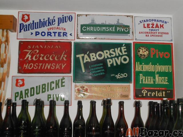 Koupím staré pivní lahve --CELÁ ČR--