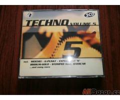 Originál 2CD Techno vol. 5 [Cena včetně poštovného]