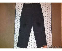 Teplejší chlapecké kalhoty