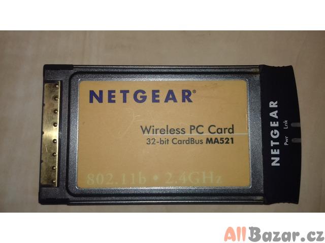 Netgear MA521 - 11 Mbps Wireless PC Card