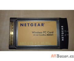 Netgear MA521 - 11 Mbps Wireless PC Card