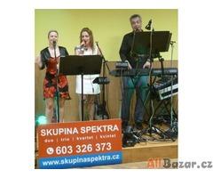 Skupina Spektra - kapela na ples, večírek, svatbu