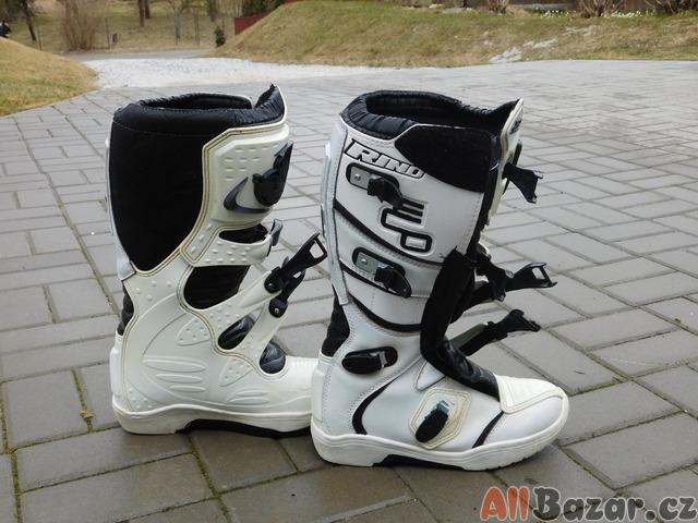 Prodám motokrosové boty RIND  de550ef586