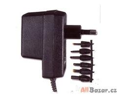 Universální napáječ 230V/3 - 12V DC stabilizovaný, 560mA