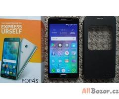 Smartphone ALCATEL POP 4S 5095K, zlatý, záruka.