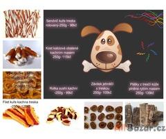 Pamlsky a krmivo pro zvířata