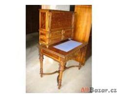 Velmi dobře zaplatím za chromovaný a dřevěný starožitný nábytek,obrazy atd.