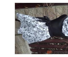Stylová retro zavinovaci sukně
