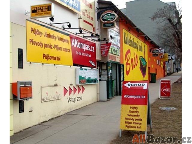 AKompas Brno půjčka úvěr pro podnikatele živnostníky