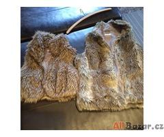 Zimní kožešinové vesty
