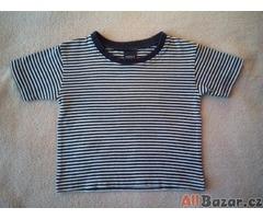 Chlapecké pruhované tričko Next