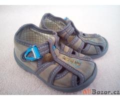 Dětské textilní papuče
