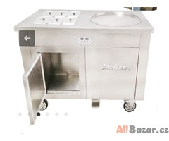 Thai Fried ice cream machine For Sale With 6 Boxes.