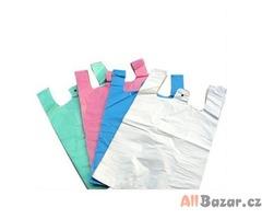Tašky HDPE s uchy více barev i rozměrů