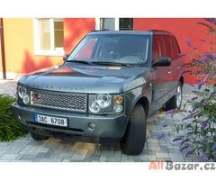 Range Rover 4.4i V8 benzín + LPG