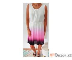 Krásné letní šaty ombré styl