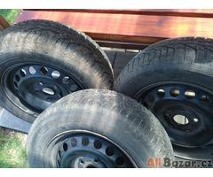 Zimní pneu s diskami