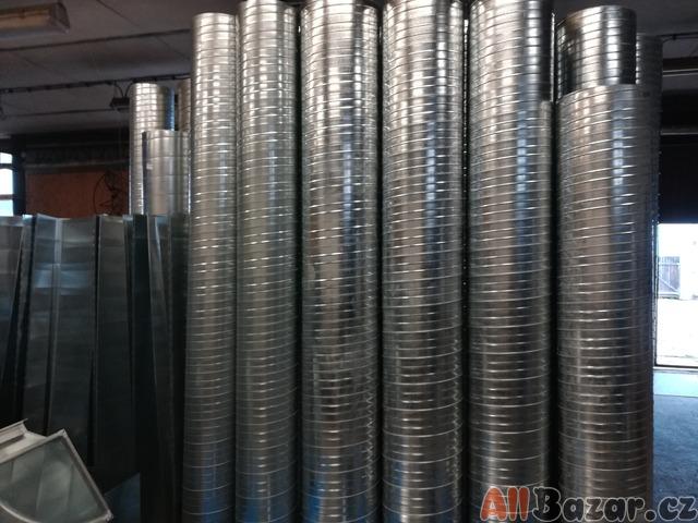 Vzduchotechnické Spiro potrubí