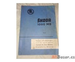 seznam dílů na Škoda 1 000