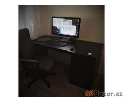 Prodám černé kancelářské křeslo Ikea v perfektním stavu