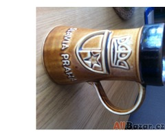 Slávistický džbán a sklenice