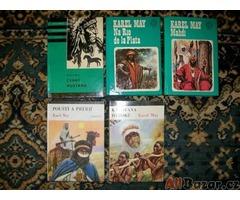 knihy dobrodružné,romány, mayovky