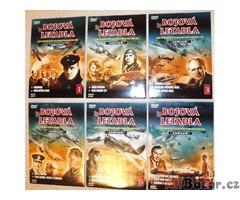 DVD dokumenty,vojenské,historické