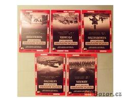 DVD válečné ,historické,přírodní,filmy