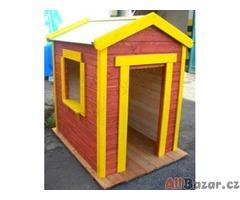 Dětský dřevěný domeček Dítě