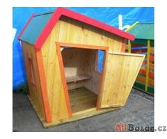 Dětský dřevěný domek Neposeda M